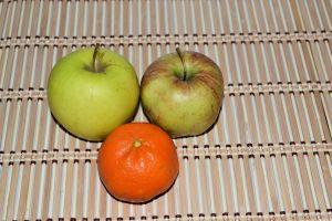 doua mere o portocala