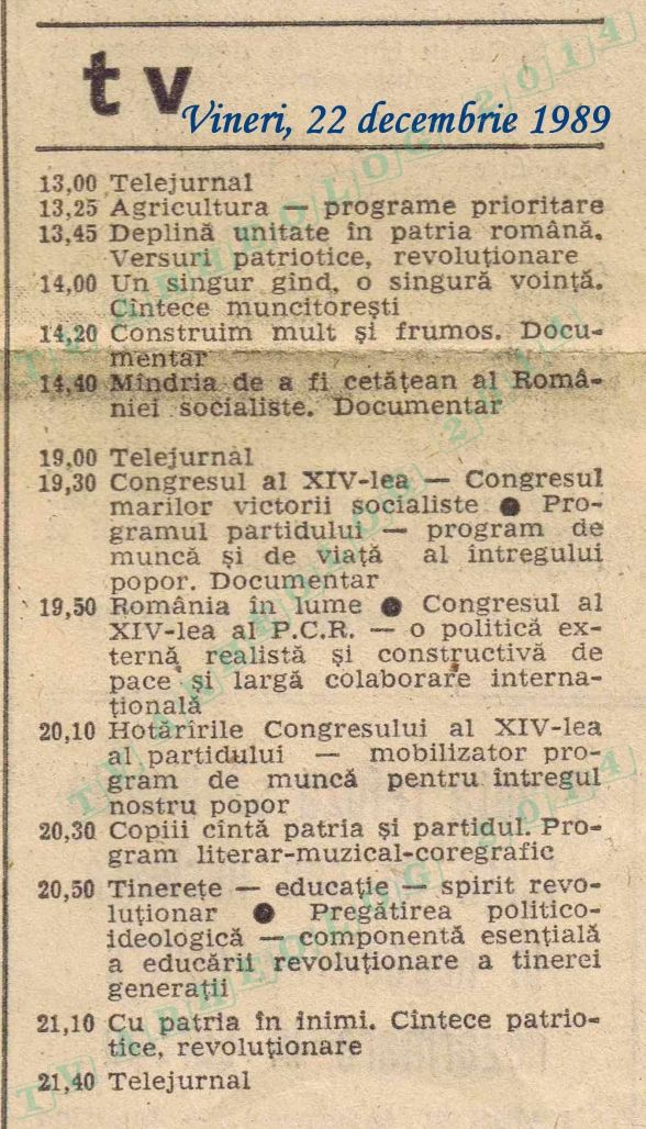 Scanteia 1989-12-22 00